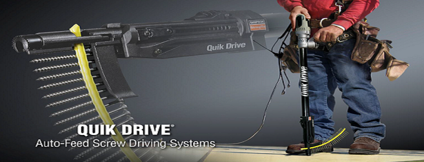 Quik Drive Screw Systems